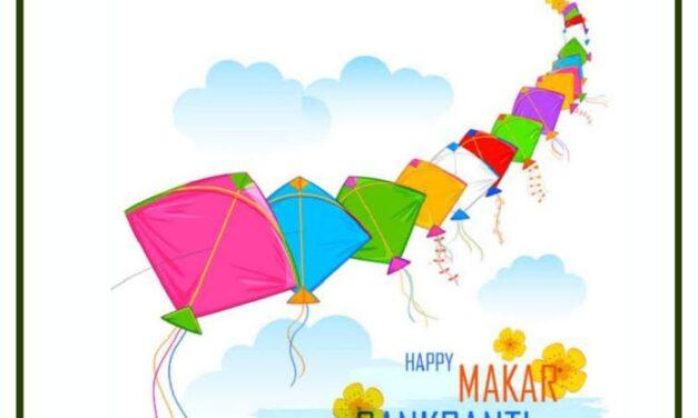 Greetings on the auspicious occasion of Makar Sankranti.