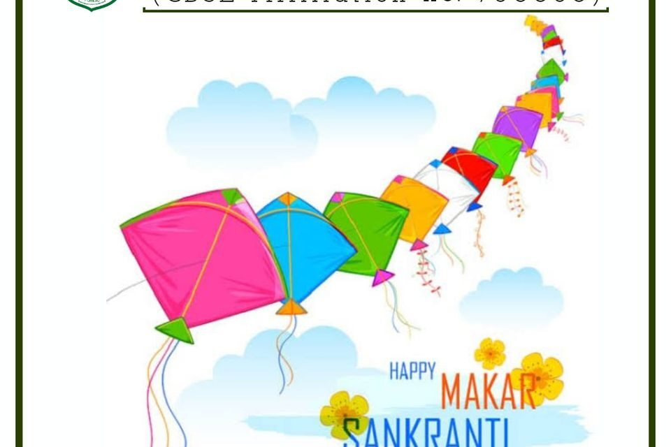 Greetings on the auspicious occasion of Makar Sankranti.