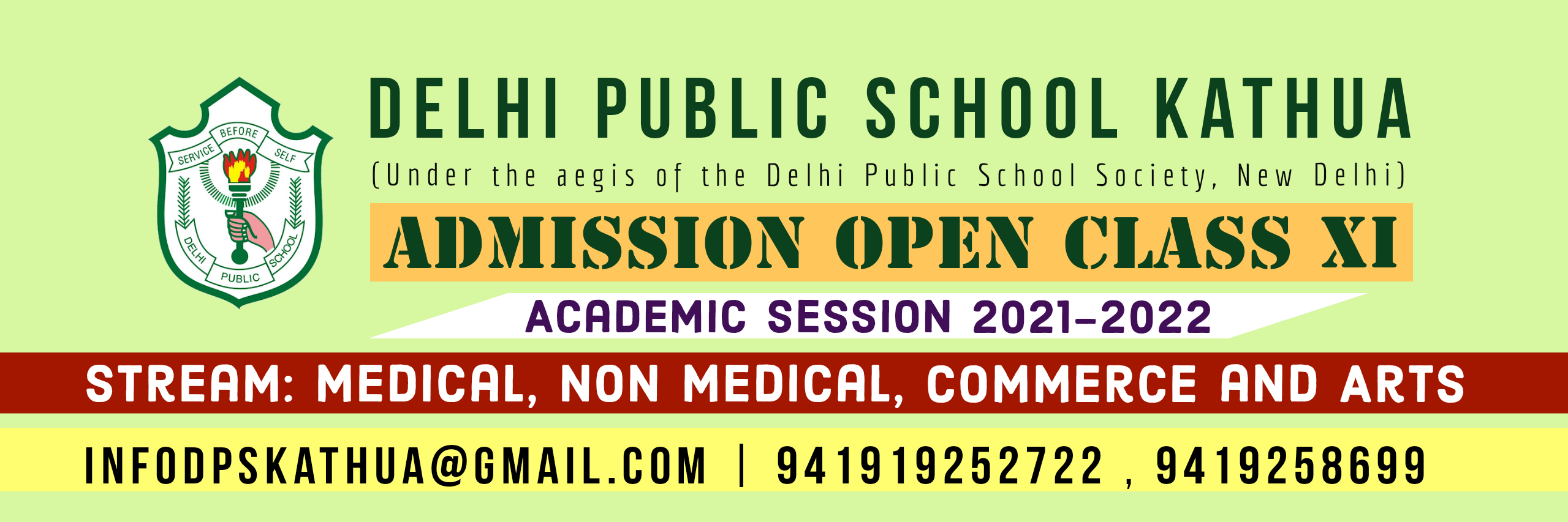 CLass XI admission open